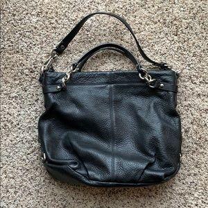 Black Floppy Coach Bag